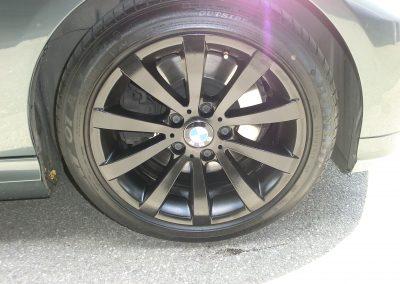 BMW Felge nachher