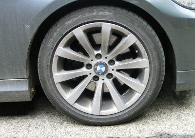 BMW Felge vorher